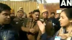 Lamba tries to slap AAP worker, says he abused her
