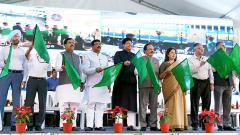 Piyush Goyal flags off nine Sewa Service trains