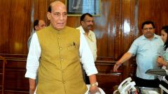 Rajnath holds high-level meet after taking charge as Defence Minister