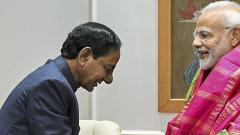 Telangana CM Chandrashekar Rao meets PM Modi, holds discussion on various pending projects