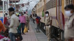 Coronavirus lockdown: 428 special trains transported 4.5 lakh Indians in distress