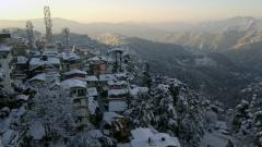 Himachal Pradesh tourist destinations shiver at sub-zero temperatures