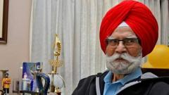 Hockey legend Balbir Singh Sr passes away at 96
