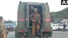 Three terrorists killed, policeman injured after firing on Jammu-Srinagar NH