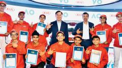 Kia Motors picks 10 Indian kids as ball boys for Australian Open starting next month