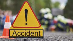 Two killed, 10 hurt as truck turns turtle on highway