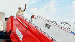 PM Modi arrives in Maldives on 1st foreign visit after re-election