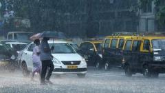 Mumbai rains: Streets waterlogged, traffic disrupted in suburban areas