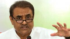 Praful Patel reaches ED office in Mumbai