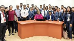 ASM IBMR batch of IIMBx students feted by IIM Bangalore