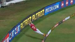 Watch: Nicholas Pooran's gravity-defying save; Twitter calls it the best save ever