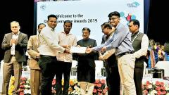 CSI's Award of Recognition to Pune police for 'Third I' proj