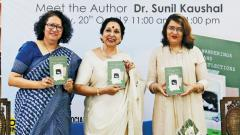Dr Kaushal launches book on her life