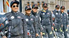 Motorcycle expedition by EME motivates girls to join Army