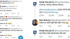 On New Year's eve, Pune police's Twitter banter wins hearts