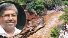 Patil blames unauthorised constructions for flash floods