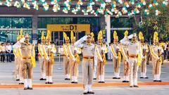 R-Day celebrated at the Pune Railway Division and Airport