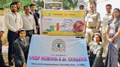 SNBP School & Junior College celebrates Gandhi Jayanti