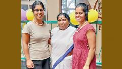 Sisters come to SOFOSH tracing their journey