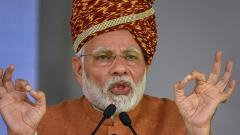 Kartarpur in Pak today because of then Cong leaders' lack of vision: PM