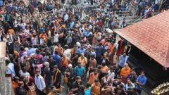 High drama at Sabarimala as frenzied protesters try to block woman