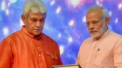 Manoj Sinha appointed as new LG of Jammu and Kashmir