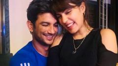 Rhea Chakraborty shares screenshots of chats with Sushant Singh Rajput