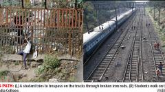 Trespassing remains a big challenge for Pune RPF