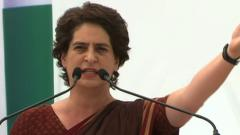 Priyanka slams Yogi's govt after teachers recruitment is put on stay
