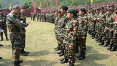 For first time women soldiers participate Indo Nepal Battalion level exercise