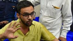 Delhi riots case: Umar Khalid sent to 10 days police custody