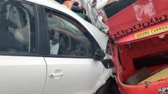 Pune: Retired cop kills one, injures three others after losing control over car in inebriated condition on Balewadi High Street