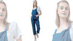 Eco-friendly dungarees