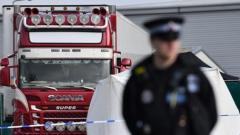 39 bodies found near London in truck container believed to have come from Bulgaria