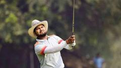 Aman Raj lands eagle enroute to 64 on second day
