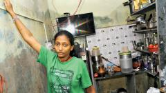 Auto-Driver Sharada's House Badly Hit In Floods