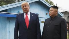 Trump becomes 1st sitting US leader to enter North Korea