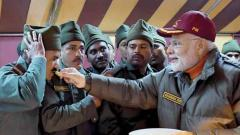 PM celebrates Diwali with soldiers near India-China border