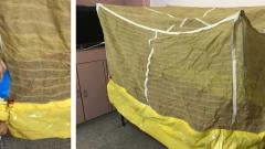 A net to keep cool in a quarantine