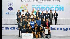 Nirma University wins ABU National Robocon 2018