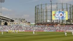 The iconic figure next to the Oval cricket ground