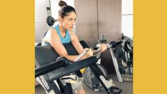 Is Yami Gautam training for an action film?