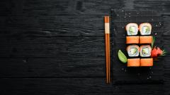sushi, food, cuisine, japanese food