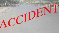 Woman burnt to death in a road accident