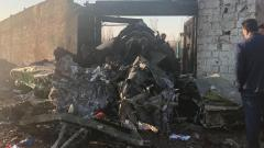 All onboard killed in Ukrainian plane crash in Iran