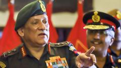 Bipin Rawat Balakot Air Strike Pakistan Line of Control LoC