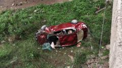 Pune: Car plunges into riverbed in Wakad, couple injured