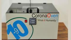 Start-up develops CoronaOven for sterilisation