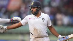Rohit races to historic hundred as first Test heads for exciting finish