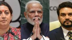 Irani, Thakur among ministers who retweeted PM's post